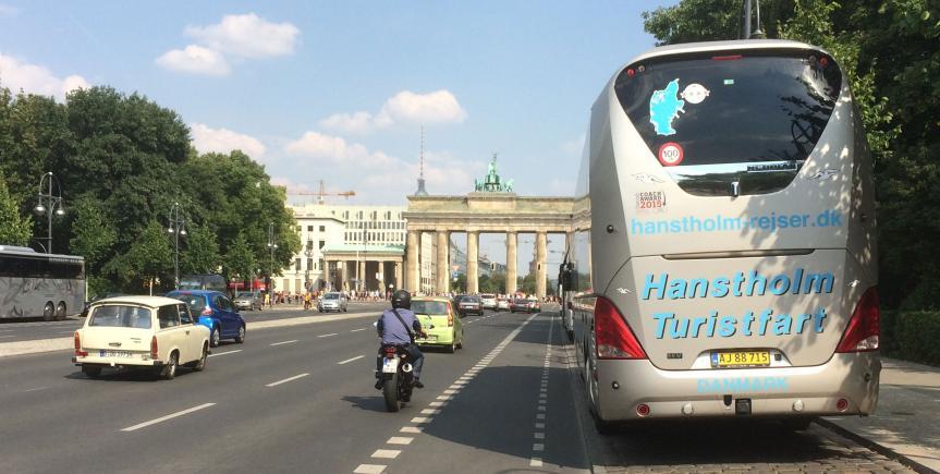 berlin rejser med bus